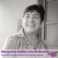 Margarita Patiño Vda de Bustios